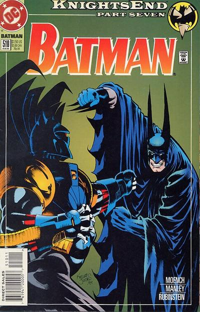 Cover for Batman (DC, 1940 series) #510