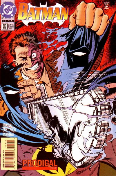Cover for Batman (DC, 1940 series) #513