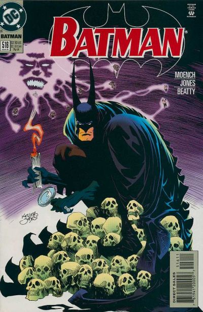 Cover for Batman (DC, 1940 series) #516