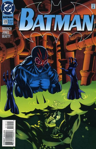 Cover for Batman (DC, 1940 series) #519 [Direct Edition]