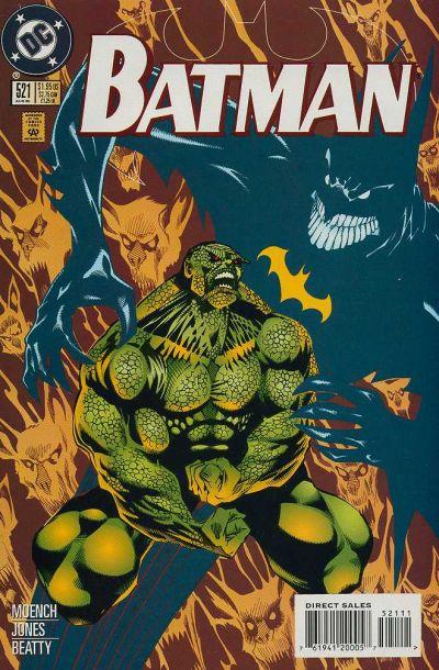 Cover for Batman (DC, 1940 series) #521