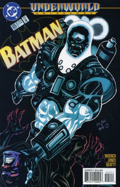 Cover for Batman (DC, 1940 series) #525