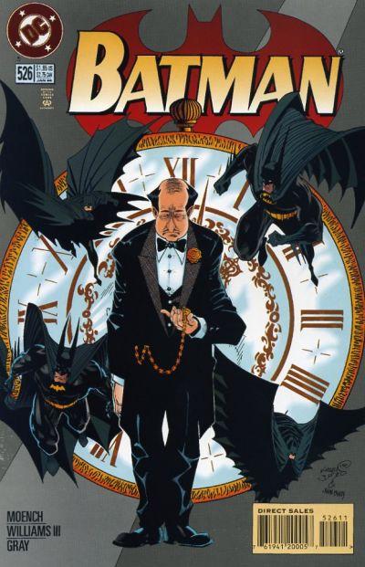Cover for Batman (DC, 1940 series) #526