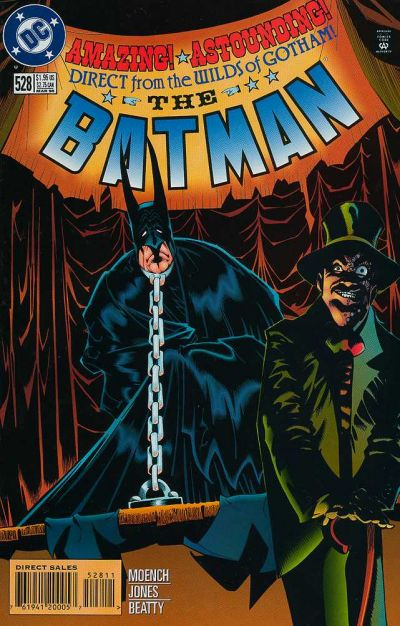 Cover for Batman (DC, 1940 series) #528