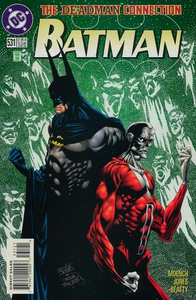 Cover for Batman (DC, 1940 series) #531