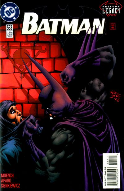 Cover for Batman (DC, 1940 series) #533