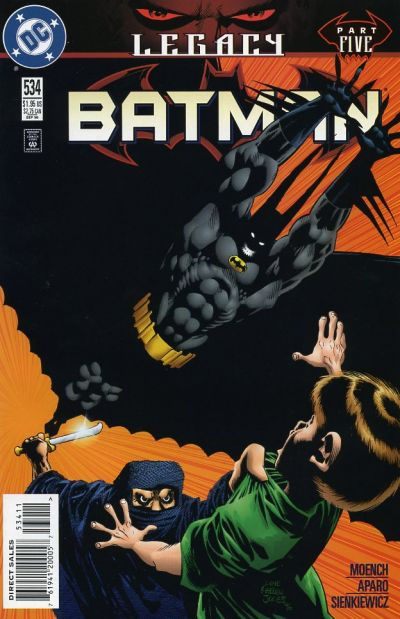 Cover for Batman (DC, 1940 series) #534