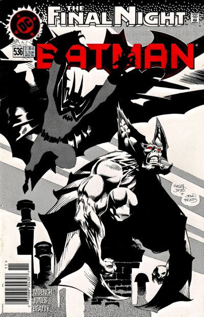 Cover for Batman (DC, 1940 series) #536 [Direct]