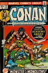 Cover for Conan the Barbarian (Marvel, 1970 series) #21 [Regular Edition]