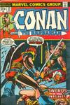 Cover for Conan the Barbarian (Marvel, 1970 series) #23 [Regular Edition]