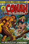 Cover for Conan the Barbarian (Marvel, 1970 series) #28 [Regular Edition]