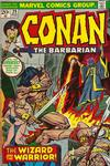 Cover for Conan the Barbarian (Marvel, 1970 series) #29 [Regular Edition]