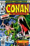 Cover for Conan the Barbarian (Marvel, 1970 series) #86