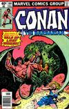 Cover for Conan the Barbarian (Marvel, 1970 series) #104 [Newsstand]