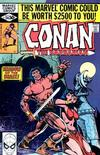Cover for Conan the Barbarian (Marvel, 1970 series) #114 [Direct]