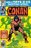 Cover for Conan the Barbarian (Marvel, 1970 series) #115 [Newsstand]