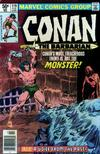 Cover for Conan the Barbarian (Marvel, 1970 series) #119 [Newsstand]