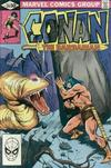 Cover for Conan the Barbarian (Marvel, 1970 series) #126 [Direct]