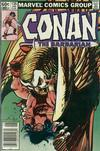 Cover for Conan the Barbarian (Marvel, 1970 series) #135 [Newsstand]