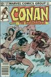 Cover for Conan the Barbarian (Marvel, 1970 series) #142 [Newsstand]