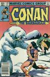 Cover for Conan the Barbarian (Marvel, 1970 series) #145 [Newsstand]