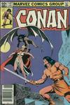 Cover for Conan the Barbarian (Marvel, 1970 series) #147 [Newsstand]