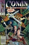 Cover for Conan the Barbarian (Marvel, 1970 series) #256 [Newsstand]
