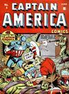 Cover for Captain America Comics (Marvel, 1941 series) #4