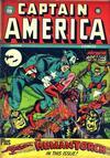 Cover for Captain America Comics (Marvel, 1941 series) #19
