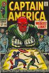 Cover for Captain America (Marvel, 1968 series) #103