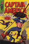 Cover for Captain America (Marvel, 1968 series) #105
