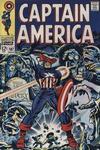 Cover for Captain America (Marvel, 1968 series) #107