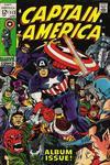 Cover for Captain America (Marvel, 1968 series) #112