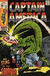 Cover for Captain America (Marvel, 1968 series) #122