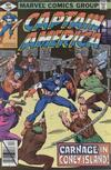 Cover for Captain America (Marvel, 1968 series) #240 [Direct]