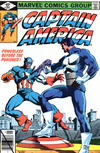 Cover for Captain America (Marvel, 1968 series) #241 [Direct]