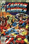 Cover for Captain America (Marvel, 1968 series) #242 [Newsstand Edition]