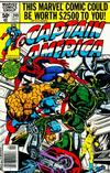 Cover Thumbnail for Captain America (1968 series) #249 [Newsstand]