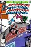 Cover for Captain America (Marvel, 1968 series) #252 [Direct]