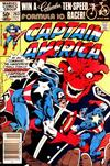 Cover for Captain America (Marvel, 1968 series) #263 [Newsstand Edition]
