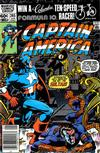 Cover Thumbnail for Captain America (1968 series) #265 [Newsstand Edition]