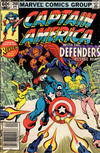 Cover Thumbnail for Captain America (1968 series) #268 [Newsstand Edition]