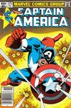 Cover for Captain America (Marvel, 1968 series) #275 [Newsstand]