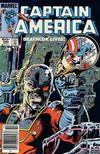 Cover Thumbnail for Captain America (1968 series) #286 [Newsstand]