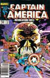 Cover for Captain America (Marvel, 1968 series) #288 [Newsstand]