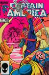 Cover for Captain America (Marvel, 1968 series) #294 [Direct Edition]