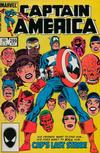 Cover for Captain America (Marvel, 1968 series) #299 [Direct]