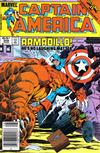 Cover for Captain America (Marvel, 1968 series) #308 [Newsstand]