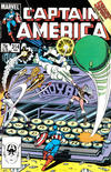 Cover Thumbnail for Captain America (1968 series) #314 [Direct Edition]
