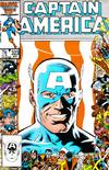 Cover for Captain America (Marvel, 1968 series) #323 [Direct Edition]